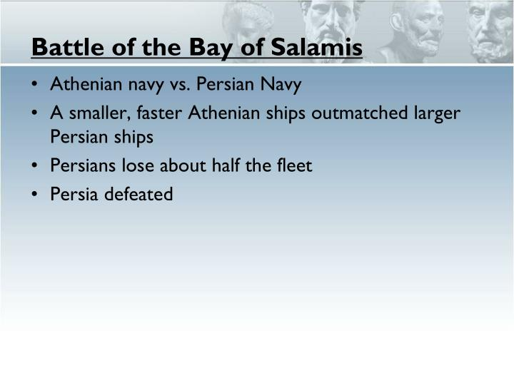 Battle of the Bay of Salamis
