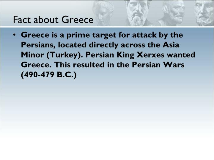 Fact about Greece