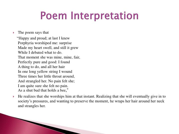 Poem Interpretation