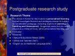 postgraduate research study1