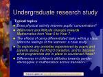 undergraduate research study2
