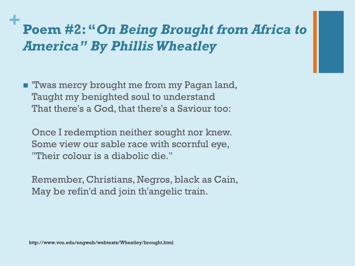 """Poem #2: """""""