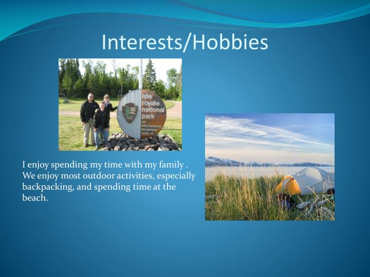 Interests/Hobbies