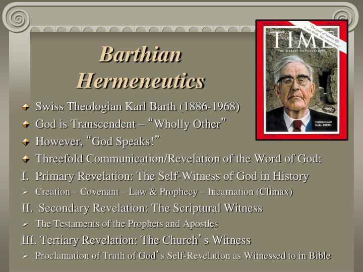 Barthian