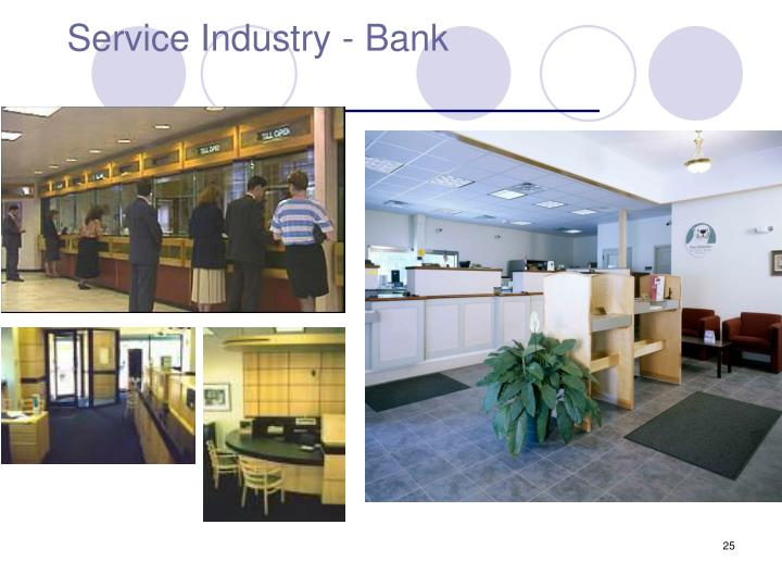 Service Industry - Bank