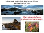 toleak point washington state peninsula coast olympic national park