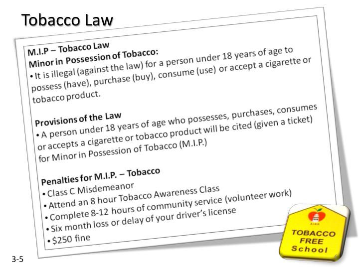 Tobacco Law