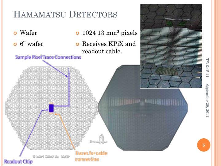 Hamamatsu Detectors