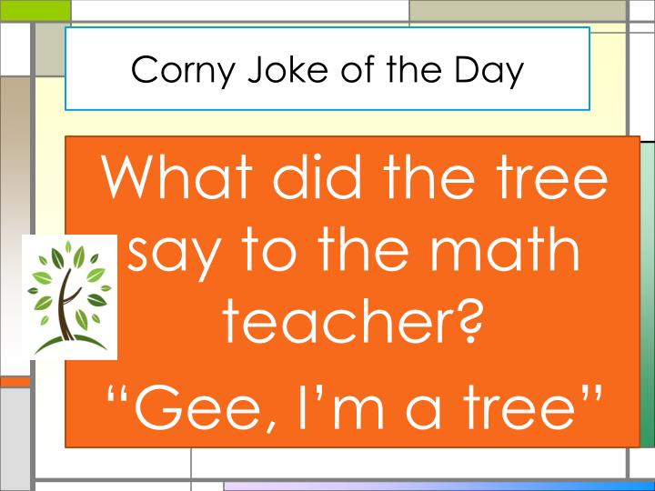 Corny Joke of the Day