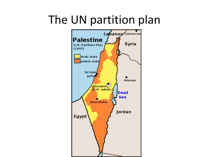 The UN partition plan