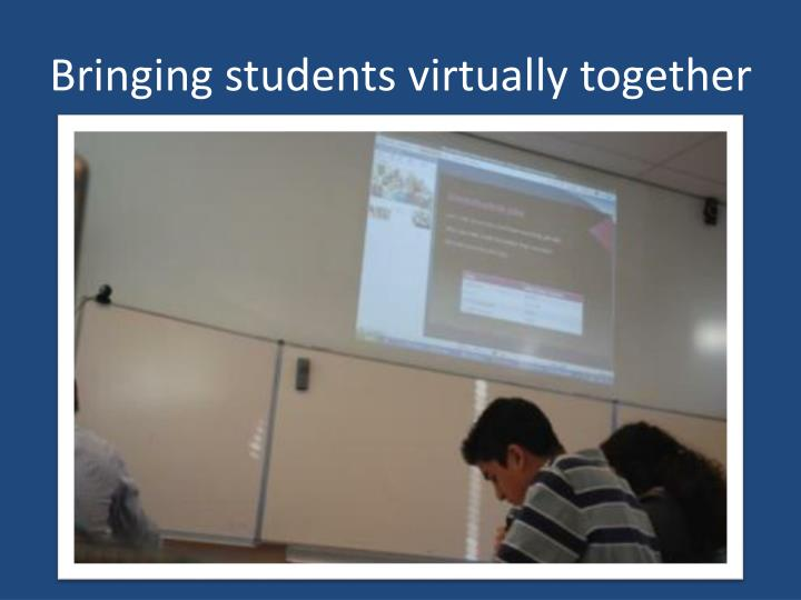 Bringing students virtually together