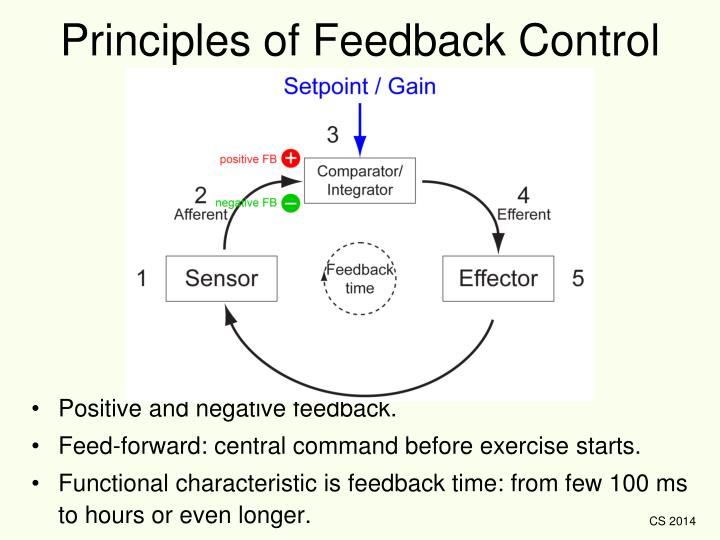Principles of Feedback Control