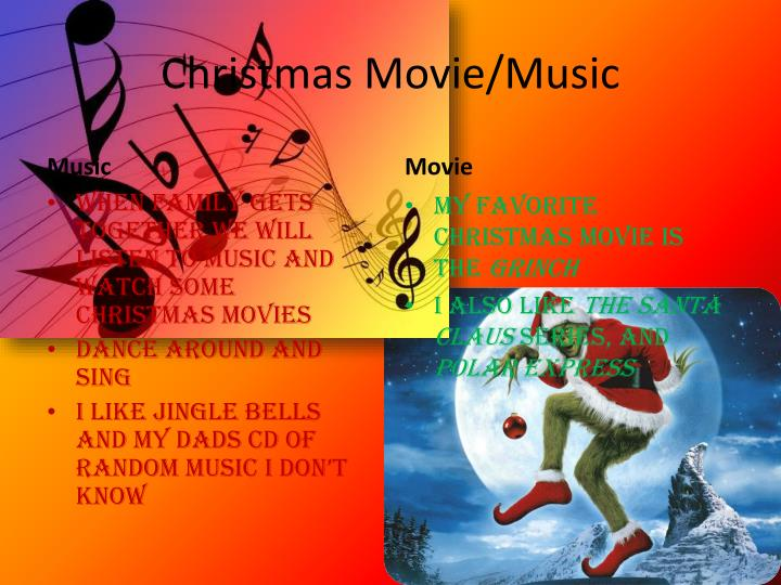 Christmas Movie/Music