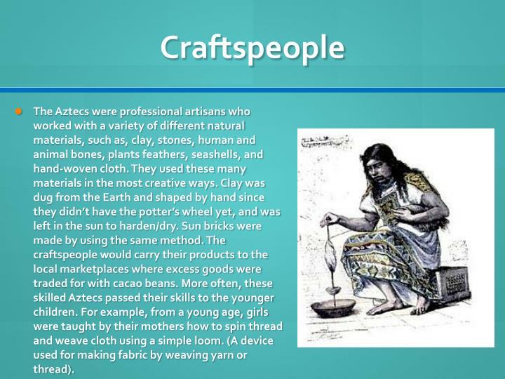 Craftspeople
