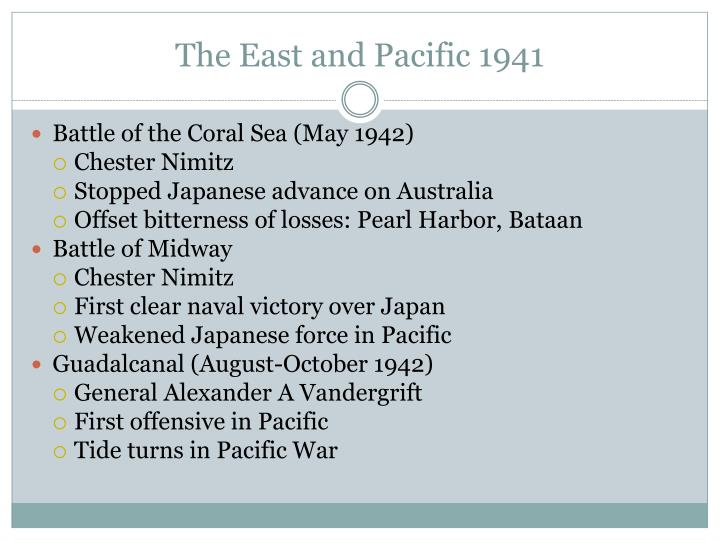 The East and Pacific 1941