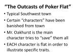 the outcasts of poker flat1