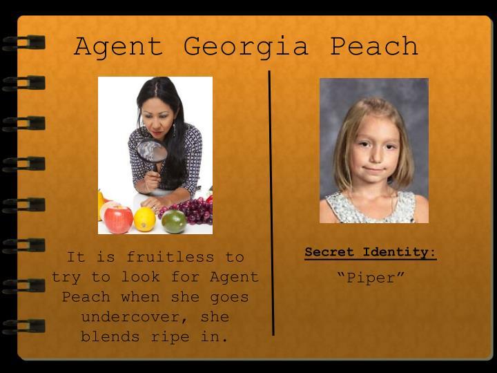 Agent Georgia Peach