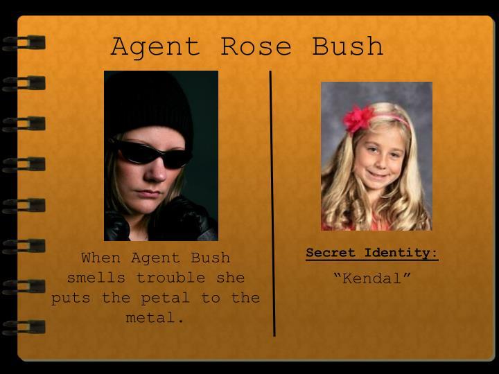 Agent Rose Bush