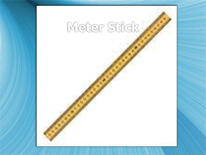 Meter Stick