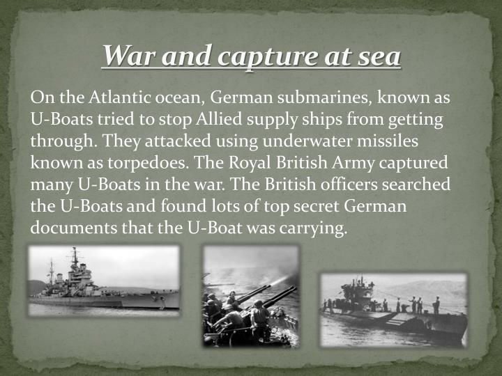 War and capture at sea