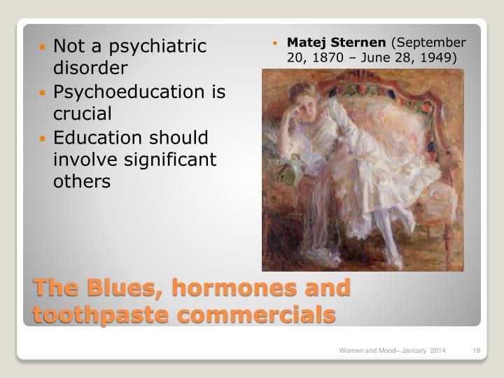 Not a psychiatric disorder