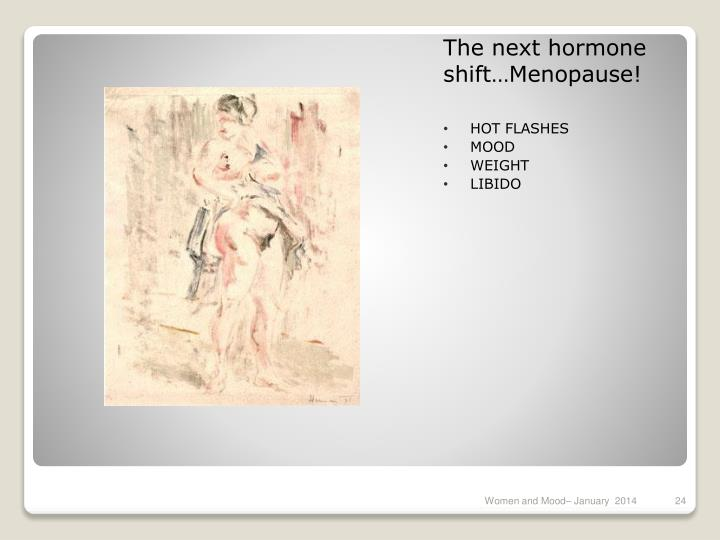 The next hormone shift…Menopause!