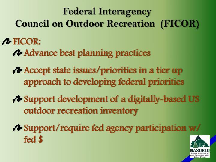 Federal Interagency