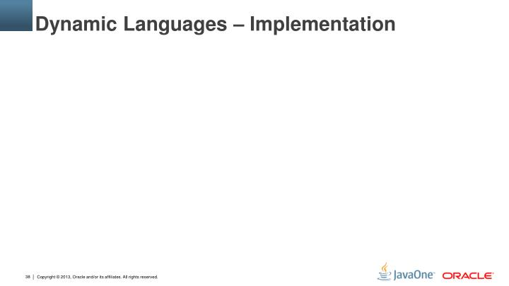 Dynamic Languages – Implementation