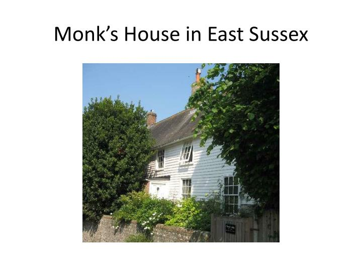 Monk's House in East Sussex