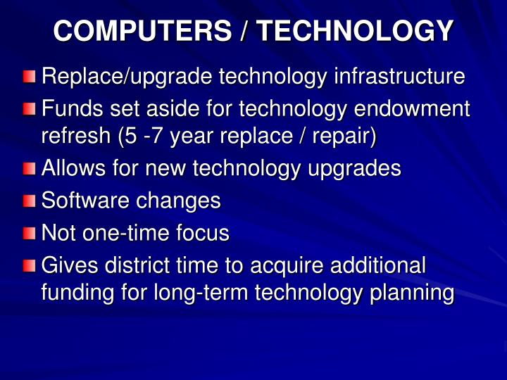 COMPUTERS / TECHNOLOGY
