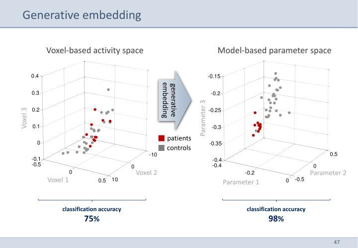 Generative embedding