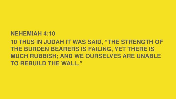 NEHEMIAH 4:1