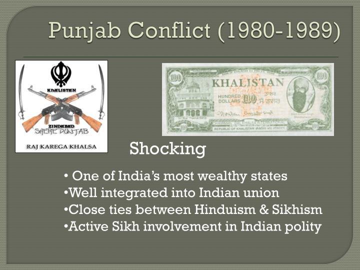 Punjab Conflict (1980-1989)
