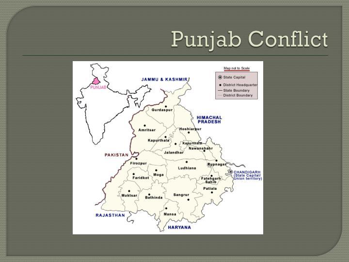 Punjab Conflict