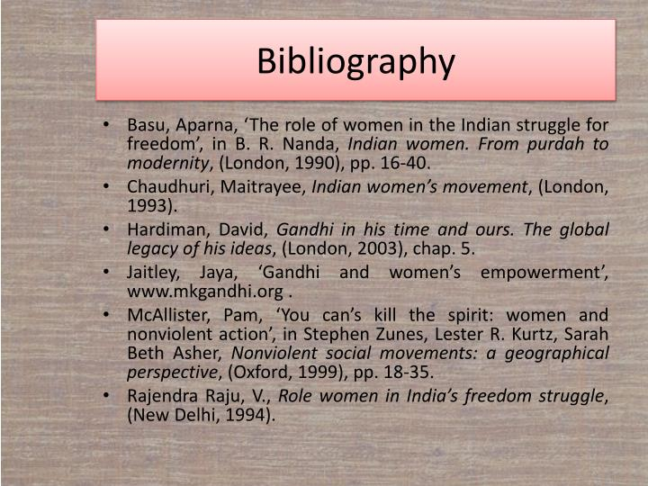 PPT - WOMEN AND NONVIOLENCE PowerPoint Presentation - ID ...