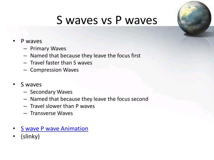 S waves