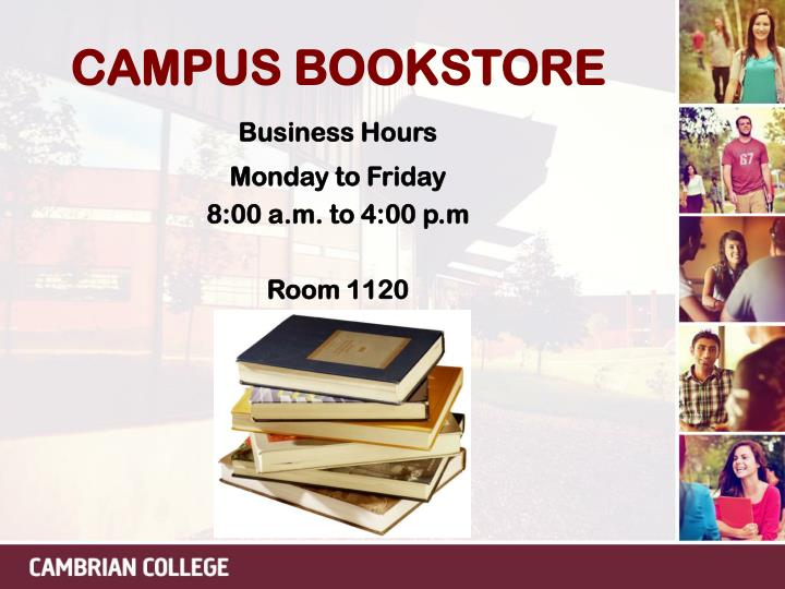 CAMPUS BOOKSTORE