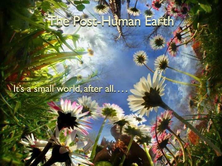 The Post-Human Earth