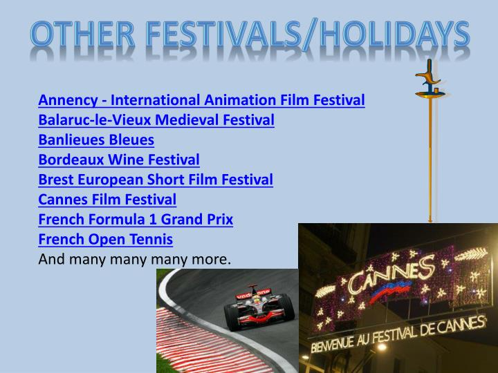 Other Festivals/Holidays