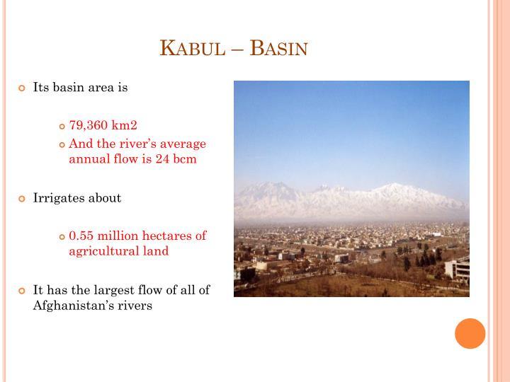 Kabul – Basin