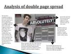 analysis of double page spread2