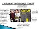 analysis of double page spread3