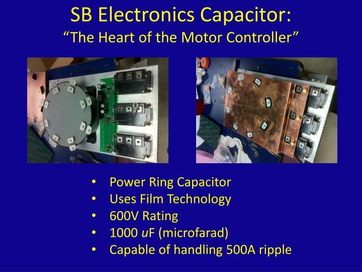 SB Electronics Capacitor: