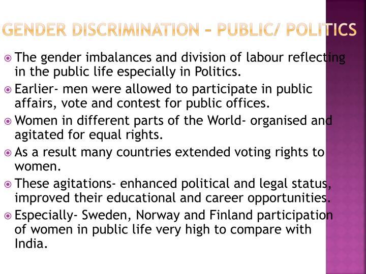 participation of women