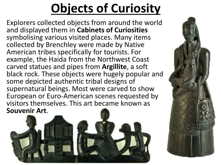 Objects of Curiosity