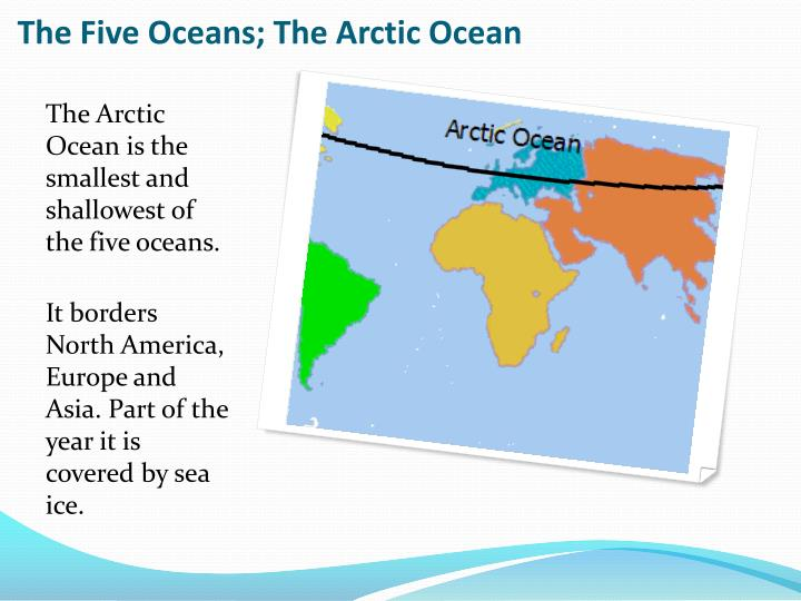 The Five Oceans; The Arctic Ocean