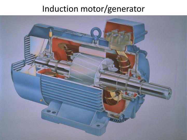 Induction motor/generator