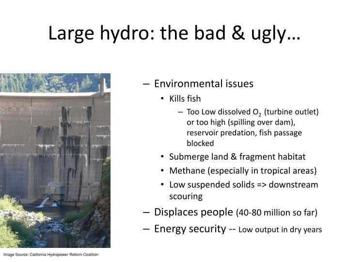 Large hydro: