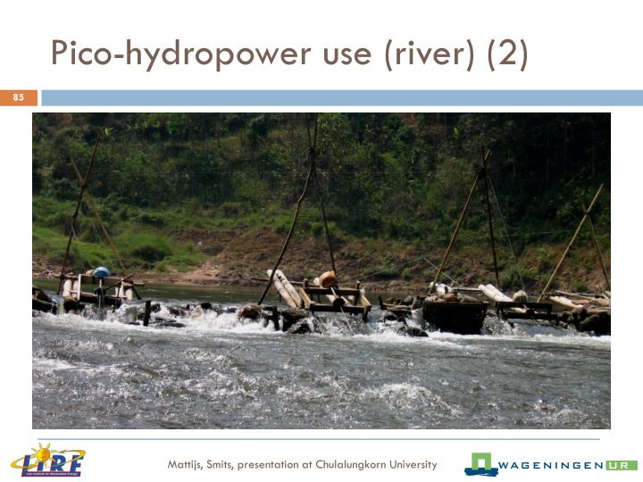 Pico-hydropower use (river) (2)