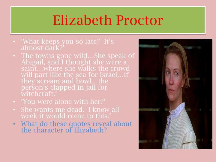Elizabeth Proctor